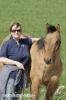 Rebecca Hopp und ihre Pferde